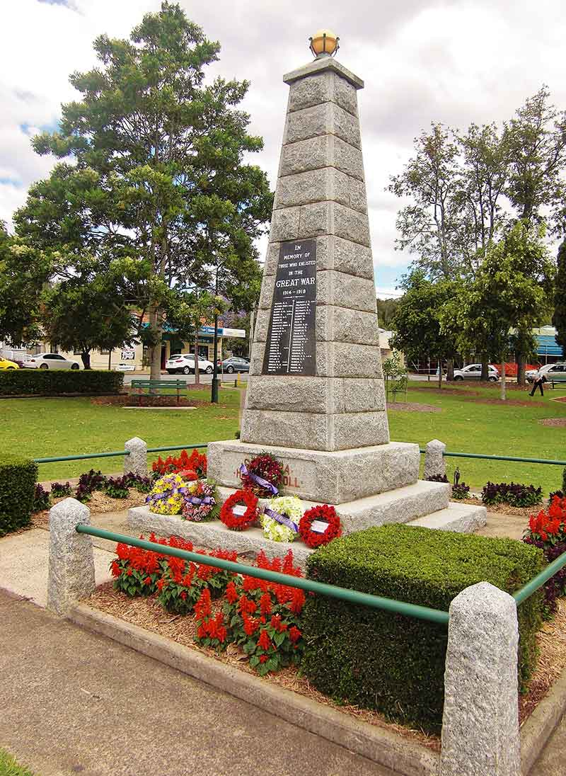 Canungra War Memorial Remembrance Day 2015.